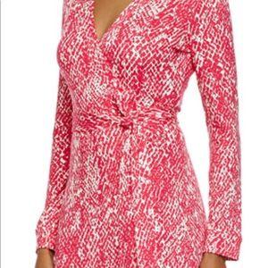 Diane Von Furstenberg Wrap Dress- Sz-4